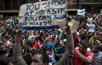 S.Africa defends police after violent student protests