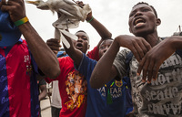 17 dead as DR Congo police clash with cult members