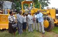 Bushenyi gets new road equipment