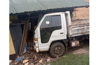 Lorry rams into house, injures three