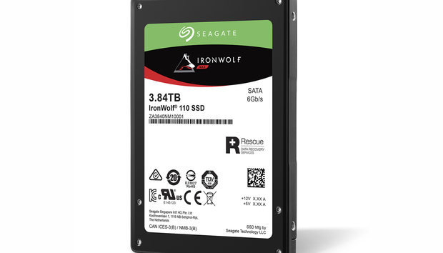 Seagate IronWolf 110 2.5-inch SSD: Up to 4TB of NAS storage designed to last, but a lot of cash