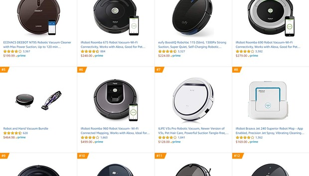 Best robot vacuums on Amazon
