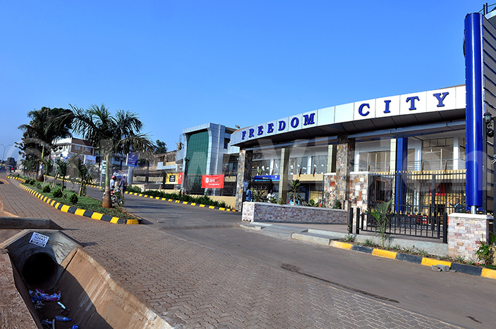 reedom city mall is one of the bulidings around the neighbourhood