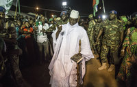 Gambia's Jammeh says will step down on state TV