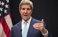Kerry in Baghdad on mission to shore up Iraq