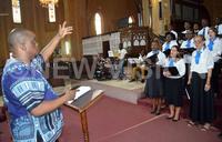 Kampala singers perform Chilcott's Jazz mass