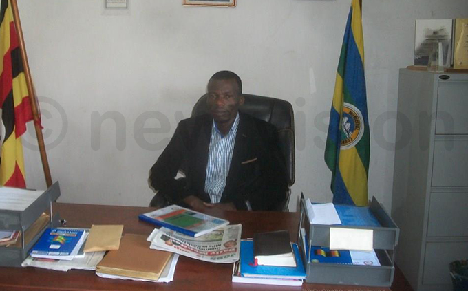 ort ortal unicipality mayor ev illy intu uhanga pictured in his office ile hoto