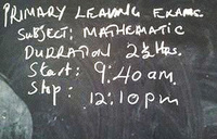 UNEB, on PLE exams, lets turn the clock backwards and get school kids off the ground!
