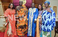 Bugwere King receives a royal welcome in Ghana