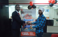 Smartphones for Xpress Money 'Festive Surprise II' daily winners