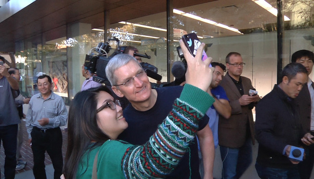 Apple granted patent for virtual group selfies