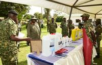Museveni commends UPDF's Armoured Brigade