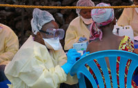 Two Ebola drugs found to increase survival rates