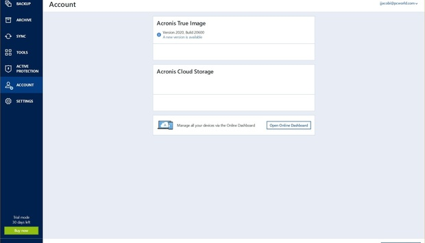 Acronis True Image 2020: One of the best backup programs adds cloud features