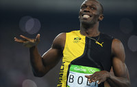 World's fastest man makes Olympic history
