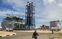 Rwanda opens pioneering methane electricity plant