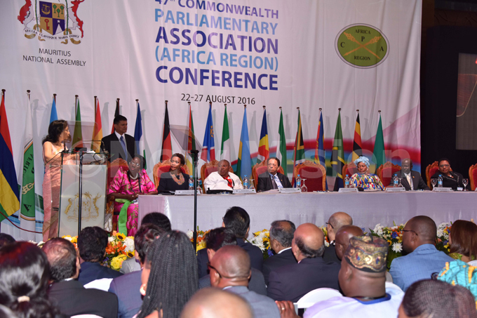 he outgoing  hair ton anti aianoomanjee at the 47th  frica egion onference