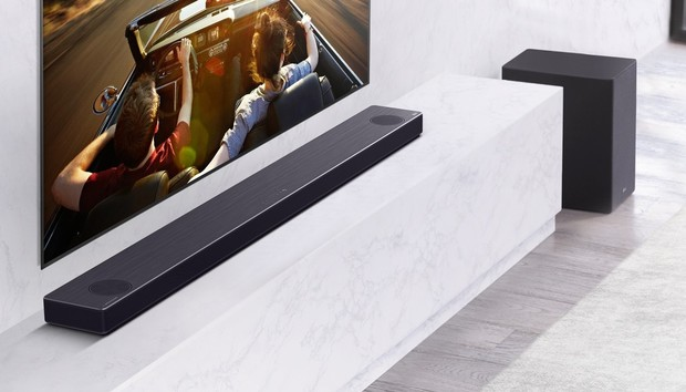 LG's premium soundbars add AI room correction and eARC support in 2020