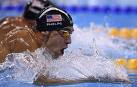 Swimmer Phelps wins 22nd Olympic gold