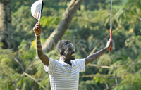 Okwong beats Muhumuza to win Mehta Open Golf tournament