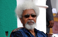 Nigeria's Soyinka hits back at 'imbeciles' in green card row