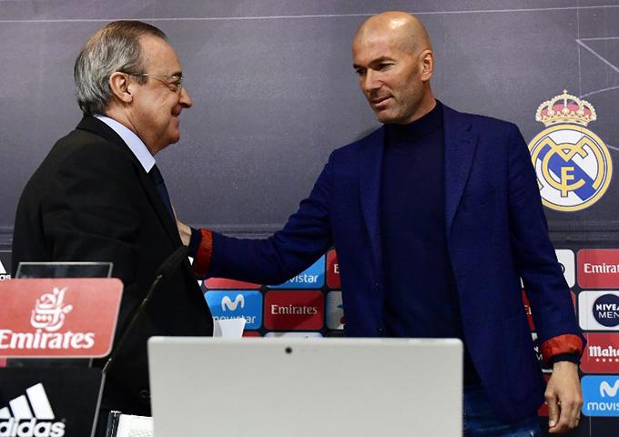 idane greets president lorentino erez at the press conference  hoto