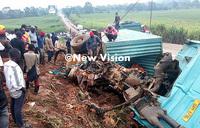 Four killed, baby unhurt in Jinja-Kampala road crash