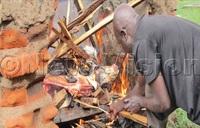 Tororo vet burns smuggled meat