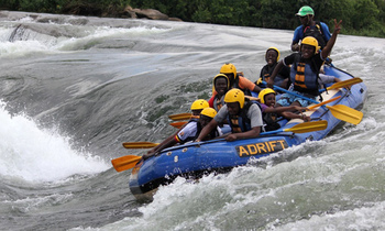 White water rafting on river nile 350x210