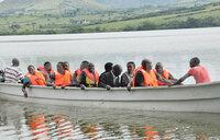 The beautiful, historical Nyabihoko lake