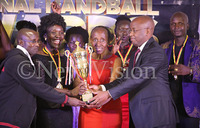 In Pictures: Handballers revel during awards gala