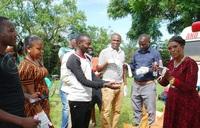 Masaka journalists receive protective equipment
