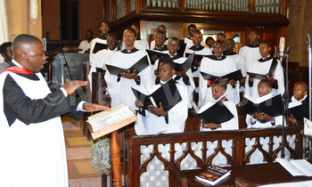 Candle4 namirembe cathedral choir in action during their christmas concert carols by candlelight on sunday 350x210
