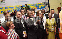 Museveni takes selfie with global youth ministers
