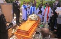 In pictures: Football legend Jimmy Kirunda buried