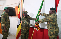 UPDF contingent in Somalia gets new commander