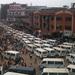Traffic congestion clogs Kampala taxi park area