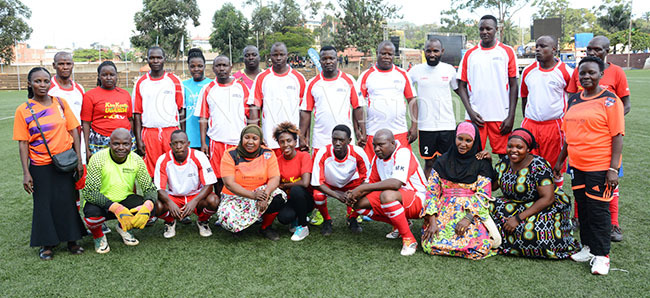 parents team pose before participating in the  undraiser at ugogo  ecember 20 2019  adminstrators won 10
