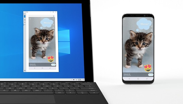 Android phone mirroring arrives in new Windows 10 preview