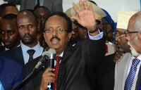 Somalia's ex-PM elected president