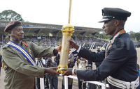 Museveni awarded highest Police honour