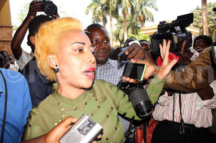 ad lack was mobbed by journalist upon her release