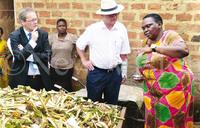 Sponsors visit nominees for best farmers award