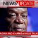 Mnangagwa and Chamisa hold talks