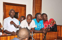 Six charged, remanded over attack on Magistrate