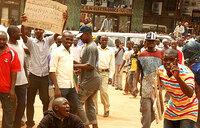 Traders protest 24hr load shedding