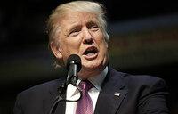 Trump says Apple will spend 'vast sums' in US