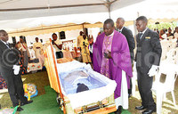 Eng. Charles Kazibwe's burial for today
