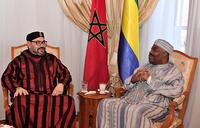 Morocco king meets Gabon president in hospital