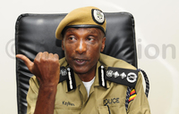 Kayihura cautions Police officers against greed